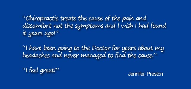 Chiropractic testimonial for Back in Action